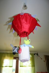 vol en mongolfière