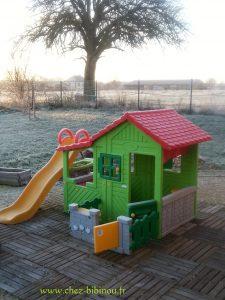 petite maison en hiverdécembre 2012