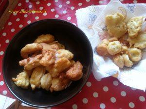 beignets pommes et banane