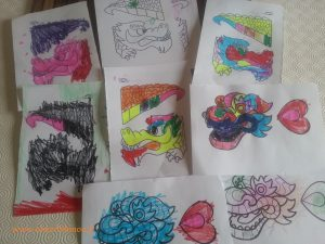 coloriages de reptiles