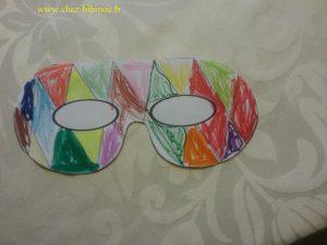 coloriage de masques