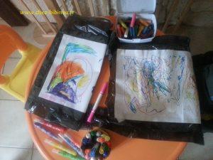 relooking coloré d'un sac poubelle :-)