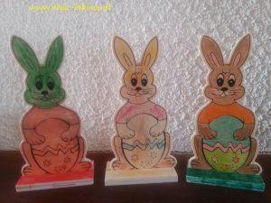Lièvres de Pâques (Emma, Yaël et Nanie)