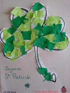 trèfle St Patrick