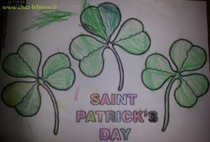 trèfles St Patrick