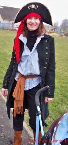 """Nanie """"pirate"""" au carnaval de l'école 2013"""