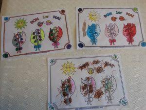 coloriages des muguets