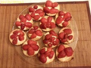 tartelettes aux fraises, tout maison ! :-)