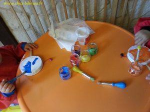 préparation des tambourins