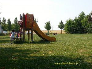 Escapade du jeudi près de l'aire de jeux de la commune
