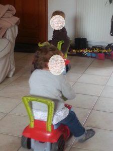 03.10.2013 roulez bolides ! ou comment transformer mon salon en rallye de F1