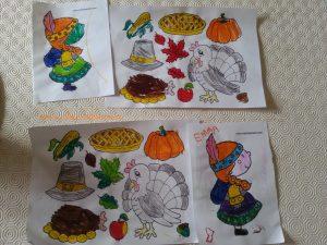 thème de Thanksgiving