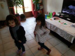 dance party dans le salon