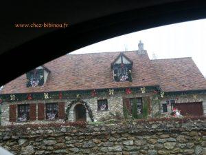 maison décorée àGazeran