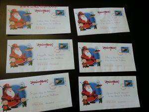 Les Coccilous ont reçu chacun une lettre du Père Noël ! :-)