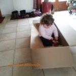 le nouveau véhicule d'Enora ! 20 min d'éclate dans le carton :-)