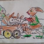 les lapins d'Enora se promènent eux aussi