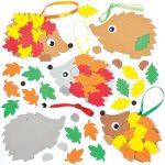 Leafy-Hedgehog-Foam-Decoration-Kits-AF549Z