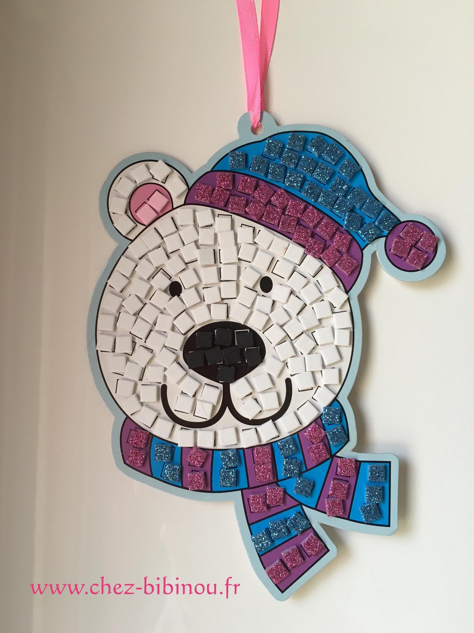 Ours en mosaïques
