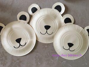 Ours polaire chez bibinou - Comment dessiner un ours ...
