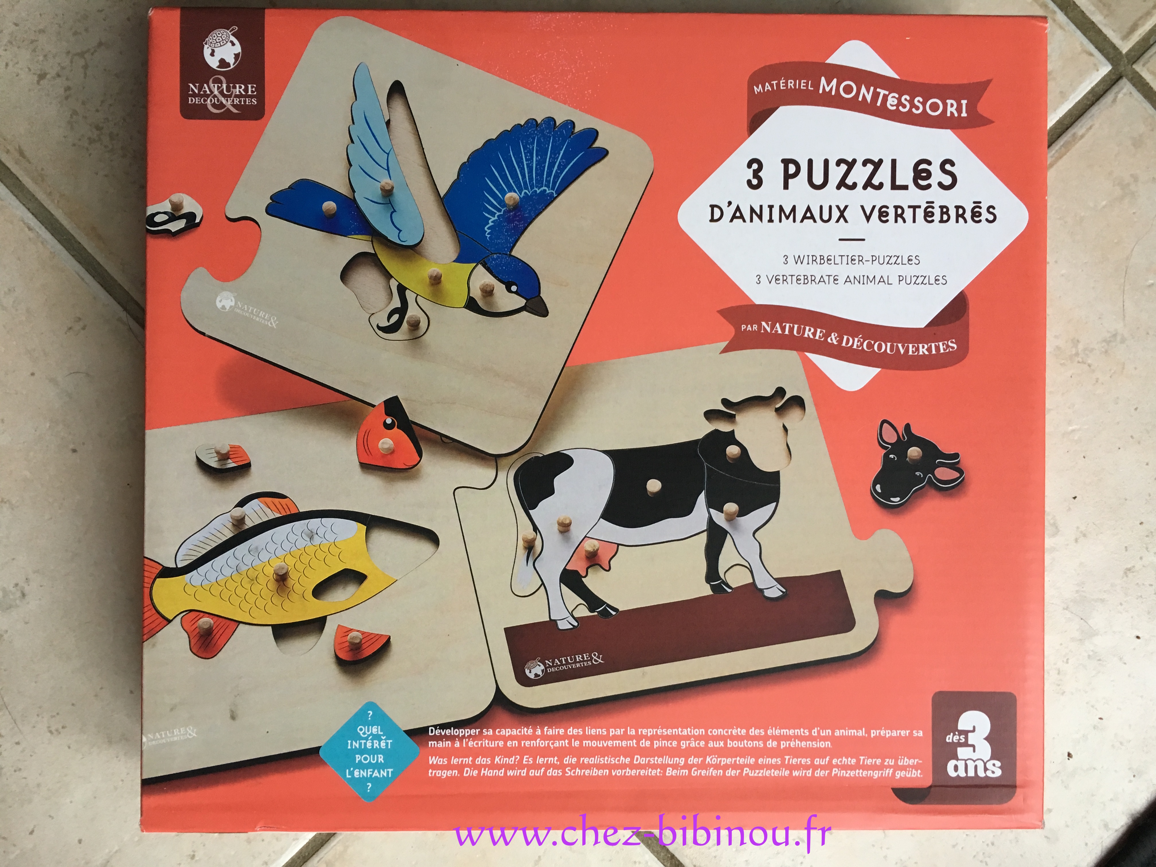 "Puzzles ""Animaux"""
