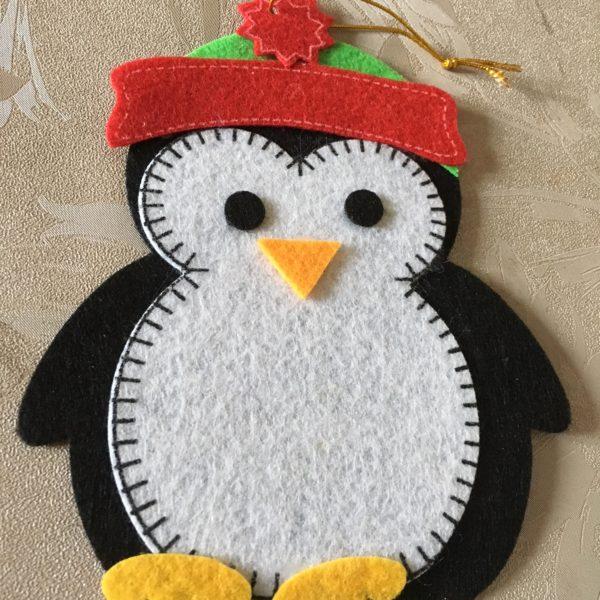 Pingouin et son bonnet